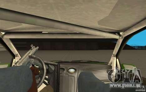 Ford Focus RS WRC 08 pour GTA San Andreas vue arrière