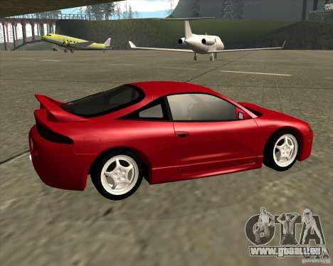 Mitsubishi Eclipse GS-T für GTA San Andreas zurück linke Ansicht