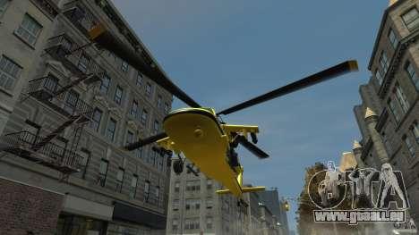 Yellow Annihilator pour GTA 4 est une vue de l'intérieur