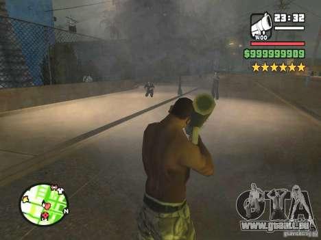 Un arrêt réel pour GTA San Andreas deuxième écran