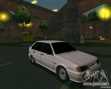 ВАЗ 2114 Extras pour GTA San Andreas