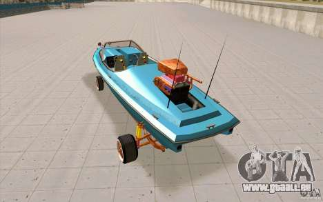 Hot-Boat-Rot für GTA San Andreas zurück linke Ansicht