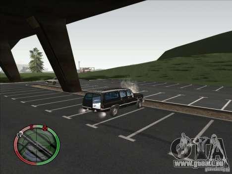 Chevrolet Suburban pour GTA San Andreas vue de droite