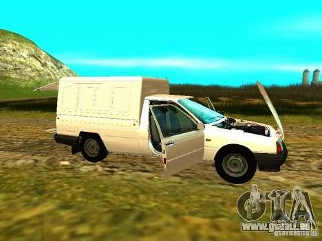 IZH 2717 für GTA San Andreas obere Ansicht