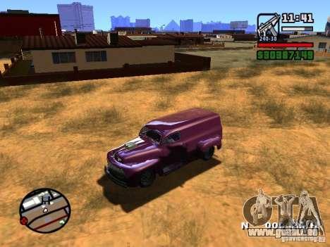 49 Ford HR Van pour GTA San Andreas vue arrière