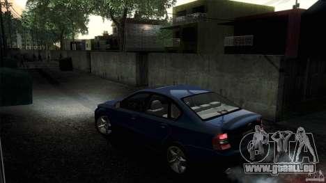 Subaru Legacy B4 3.0R specB pour GTA San Andreas vue arrière