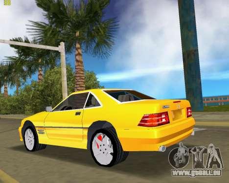 Mercedes-Benz SL600 1999 pour GTA Vice City sur la vue arrière gauche