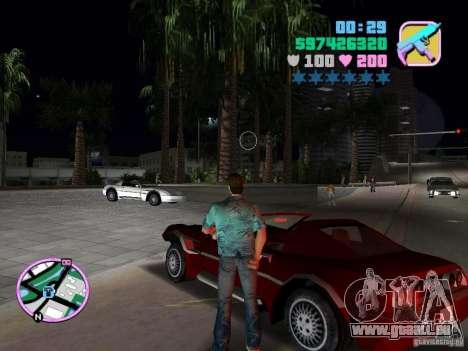 Phobos VT de Gta Liberty City Stories pour GTA Vice City sur la vue arrière gauche