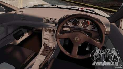 Nissan Skyline GT-R (BNR32) für GTA 4 Rückansicht