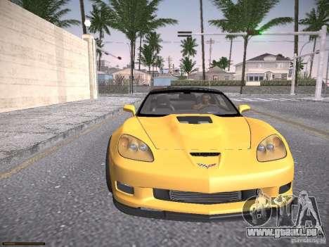 Chevrolet Corvette ZR1 pour GTA San Andreas vue de côté