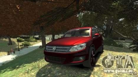 Volkswagen Tiguan 2012 pour GTA 4 Vue arrière