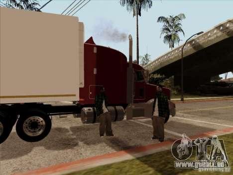 Peterbilt 377 für GTA San Andreas rechten Ansicht