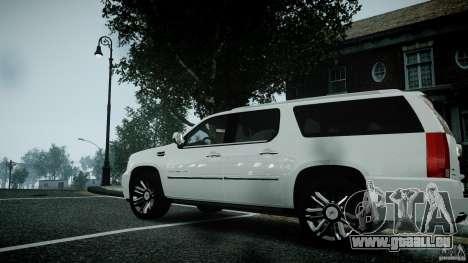 Cadillac Escalade ESV pour GTA 4 est un droit