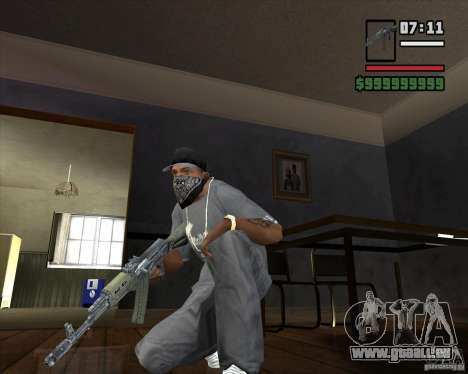AKM HD für GTA San Andreas zweiten Screenshot