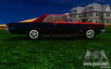 Pontiac GTO 1965 FINAL pour GTA 4 est une vue de l'intérieur