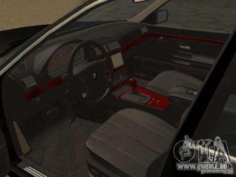 BMW 740I E38 (RUS) für GTA San Andreas rechten Ansicht