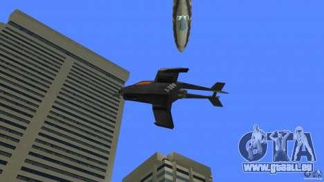 X-304 Gunship pour une vue GTA Vice City de la droite