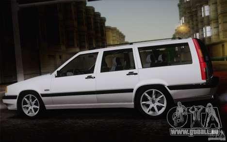 Volvo 850 Estate Turbo 1994 für GTA San Andreas rechten Ansicht
