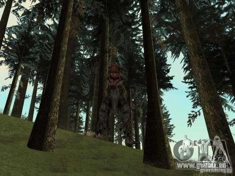 Dinosaurs Attack mod pour GTA San Andreas dixième écran