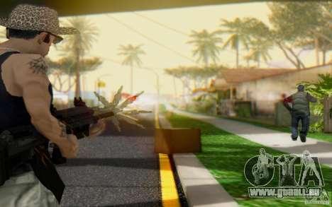 Saiga 12 c de Warface pour GTA San Andreas deuxième écran