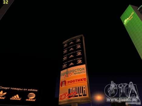 Remplacement complet du magasin Binco Adidas pour GTA San Andreas quatrième écran