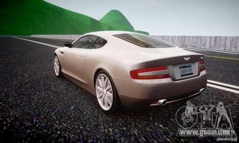Aston Martin DB9 2005 V 1.5 pour GTA 4 Vue arrière de la gauche