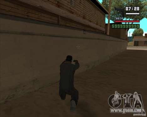 Beretta M92FS HD pour GTA San Andreas deuxième écran