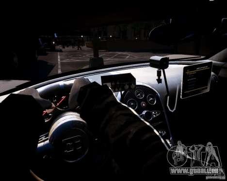 Bugatti Veryon SS COP pour GTA 4 Vue arrière