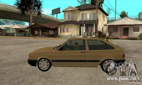VW Gol GL 1.8 1989 pour GTA San Andreas laissé vue