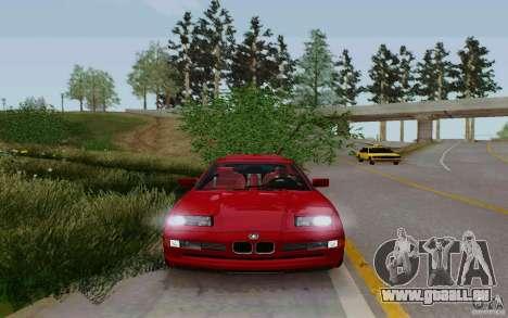 BMW 850i v2.0 Final für GTA San Andreas zurück linke Ansicht