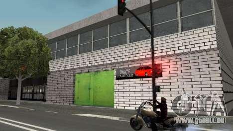 Structure des garages et bâtiments en fo pour GTA San Andreas quatrième écran