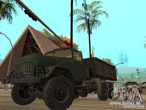ZIL 131 camion pour GTA San Andreas salon