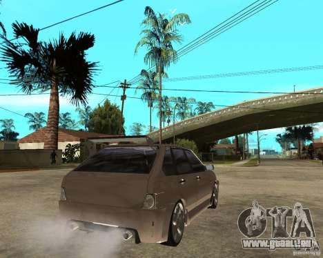 Vaz 21093 LiquiMoly pour GTA San Andreas sur la vue arrière gauche