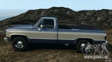 Chevrolet Silverado 1986 pour GTA 4 est une gauche