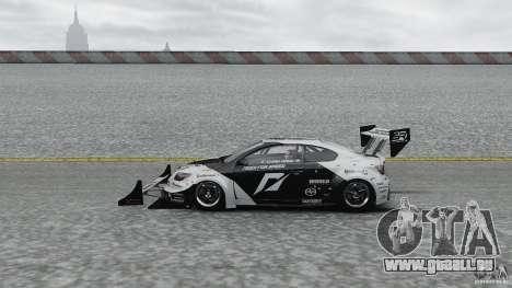 Toyota Team NFS AWD Scion tC für GTA 4 linke Ansicht