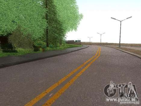 Modification Of The Road für GTA San Andreas