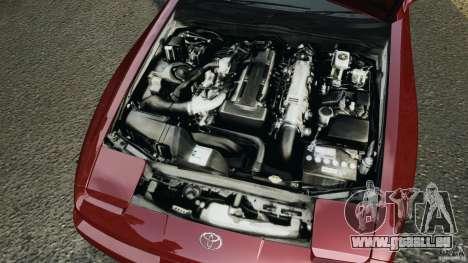 Toyota Supra 3.0 Turbo MK3 1992 v1.0 [EPM] für GTA 4 obere Ansicht