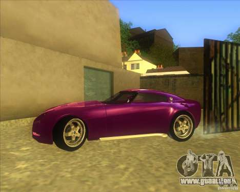 Melling Hellcat für GTA San Andreas zurück linke Ansicht