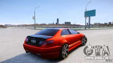 Schafter2 Sedan für GTA 4 hinten links Ansicht
