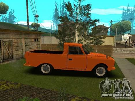 IZH 27151 für GTA San Andreas linke Ansicht