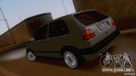 Volkswagen Golf Mk2 GTi für GTA San Andreas linke Ansicht