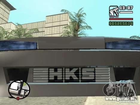Elegy First Update By reNz pour GTA San Andreas vue arrière