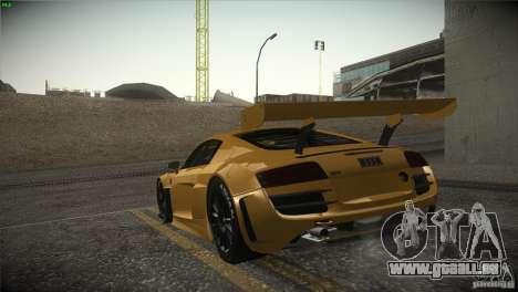 Audi R8 LMS für GTA San Andreas linke Ansicht