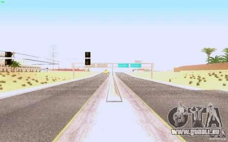 Asphalte HQ dans Las Venturase pour GTA San Andreas deuxième écran
