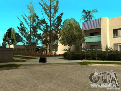 New Grove Street TADO edition für GTA San Andreas zehnten Screenshot