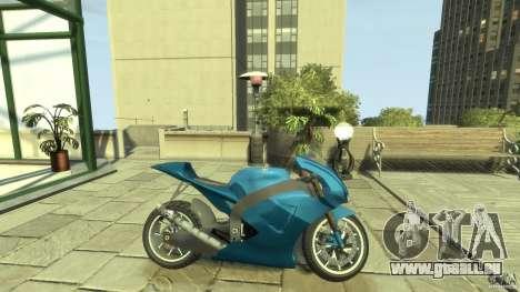 Yamaha YZR M1 Street Version für GTA 4 linke Ansicht