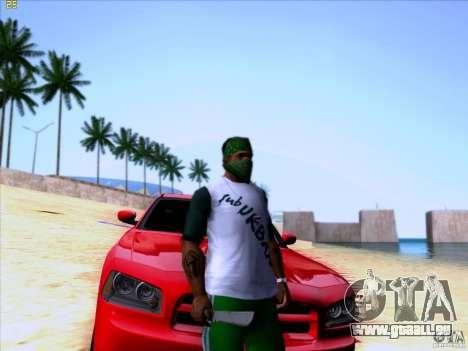 Machete from Far Cry 3 pour GTA San Andreas deuxième écran