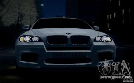 BMW X6M E71 pour GTA San Andreas vue de droite