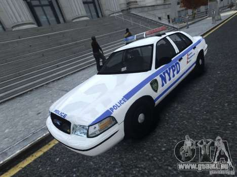 Ford Crown Victoria NYPD 2012 pour GTA 4