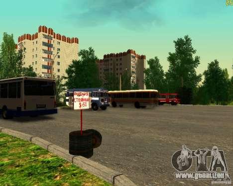 Flotte à Anaheim pour GTA San Andreas cinquième écran